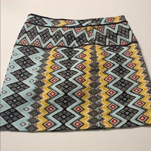 Loft Women's Skirt in Aztec Pattern